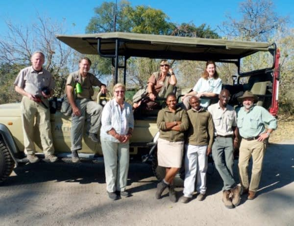 My gang of fellow photographers, Botswana
