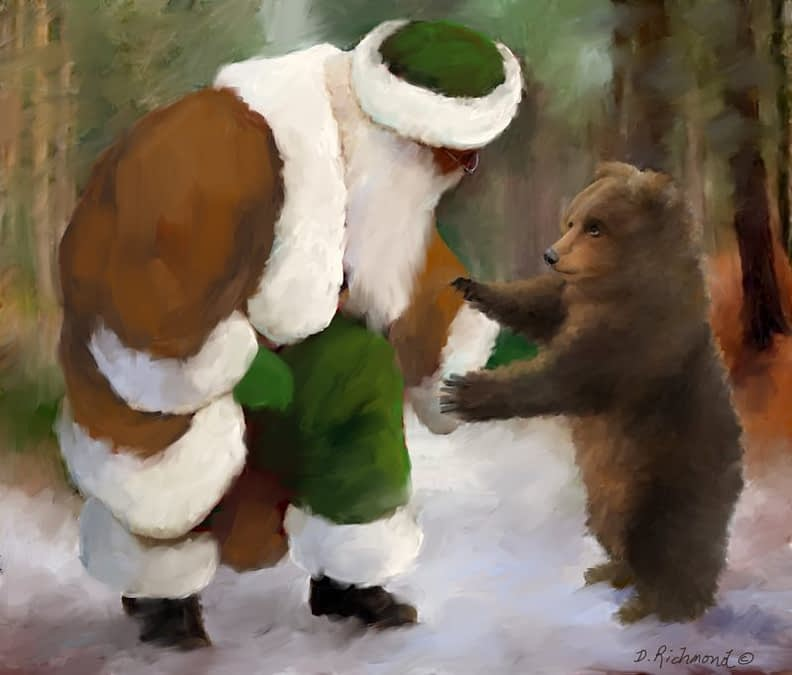 What Can Santa Bring You Baby Bear